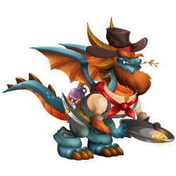 An image of the Gold Rush Dragon