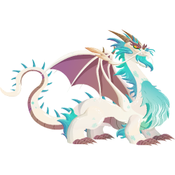 An image of the Great White Dragon