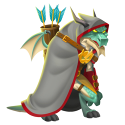 An image of the Guild Leader Dragon