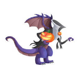 An image of the Halloween Dragon