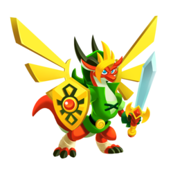 An image of the Hero Dragon