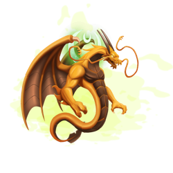 An image of the High Eternal Dragon