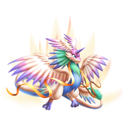 An image of the High Ethereal Dragon