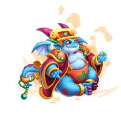 An image of the High Positivity Dragon