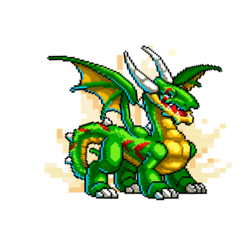 An image of the High Resolution Dragon