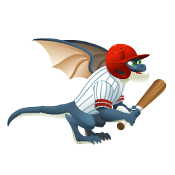 An image of the Homerun Dragon