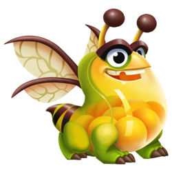 An image of the Honey Collector Dragon