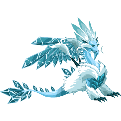 An image of the Ice Dragon
