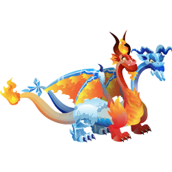 An image of the Ice Fire Dragon