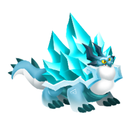 An image of the Iceberg Dragon