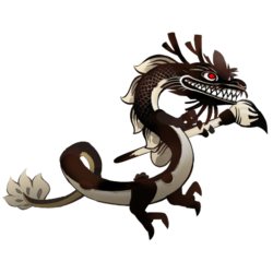 An image of the Inky Dragon