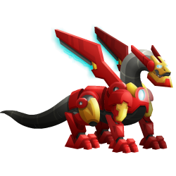 An image of the Iron Dragon