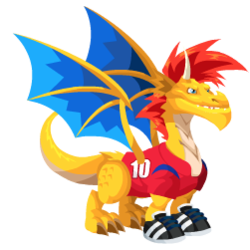An image of the Korean Soccer Dragon