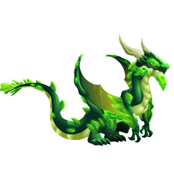An image of the Kryptonite Dragon