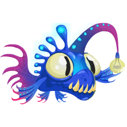 An image of the Lantern Fish Dragon