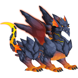 An image of the Lava Dragon