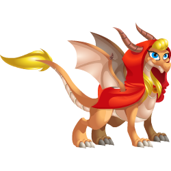 An image of the Little Red Riding Hood Dragon