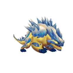 An image of the Little Volt Dragon