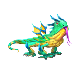 An image of the Lizard Dragon