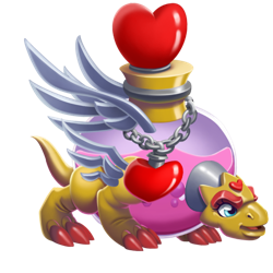 An image of the Love Potion Dragon