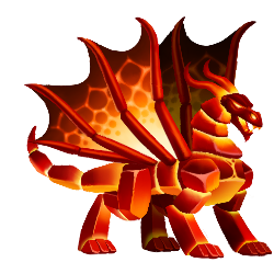 An image of the Magma Dragon
