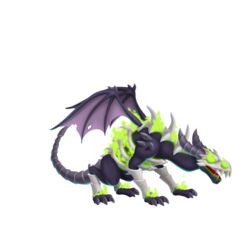 An image of the Malice Striker Dragon