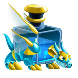 An image of the Mana Potion Dragon