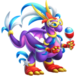 An image of the Maraca Dragon