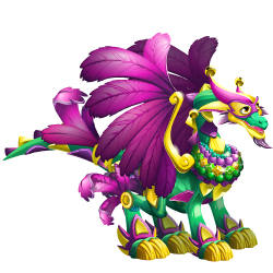 An image of the Mardi Gras Dragon