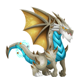 An image of the Millenium Dragon