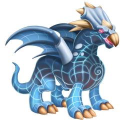 An image of the Multidimensional Dragon