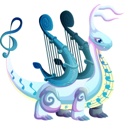 An image of the Music Dragon