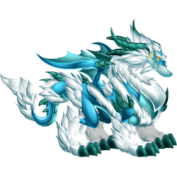 An image of the Mystic Blizzard Dragon