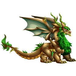 An image of the Mystic War Dragon