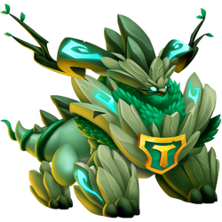 An image of the Nature Titan Dragon