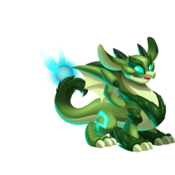 An image of the Night Forest Dragon