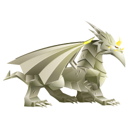 An image of the Origami Dragon
