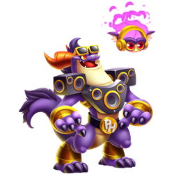 An image of the Party Hard Dragon