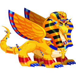 An image of the Pharaoh Dragon