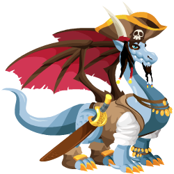 An image of the Pirate Dragon