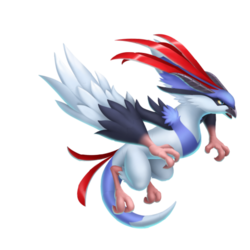 An image of the Plume Dragon