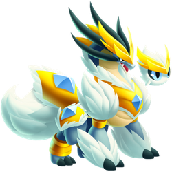 An image of the Polar Seraph Dragon