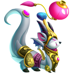An image of the Prosperous Rat Dragon