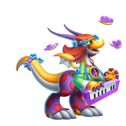 An image of the Psychedelia Dragon