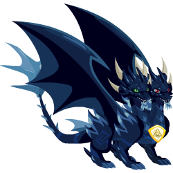 An image of the Pure Dark Dragon
