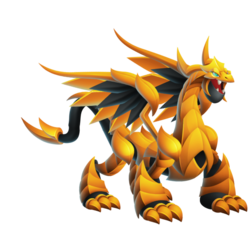 An image of the Pure Gold Dragon