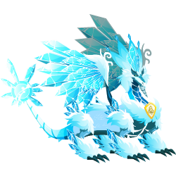 An image of the Pure Ice Dragon