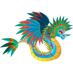 An image of the Quetzal Dragon