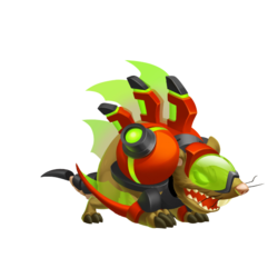 An image of the Ratabite Dragon
