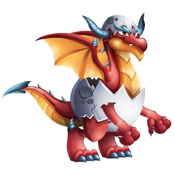 An image of the Red Egg Dragon